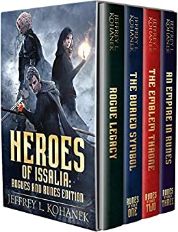 Heroes of Issalia: An Epic Fantasy Saga (Runes Complete Series & Prequel) (English Edition) di [Kohanek, Jeffrey L.]