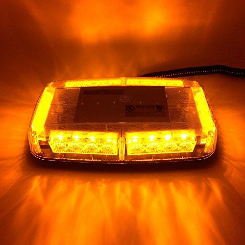 Led Strobe Light Car Toit Hazard d'urgence clignotant lampe ampoules Camion véhicule Feux d'avertissement DC 12 V Ambre