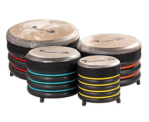 Trommus-Drums Bodentrommel Spar-Set Trommeln mit Naturfelle Musikinstrumente