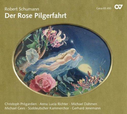 Schumann : Der Rose Pilgerhahrt. Prégardien, Janemann.