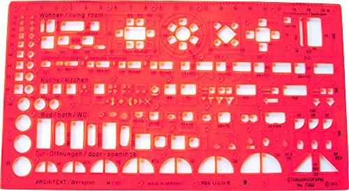 Standardgraph 7302 - Maschera per architetto, 1:100
