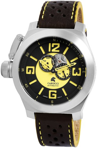Carucci Gents Watch Automatic CA2175BK-YL