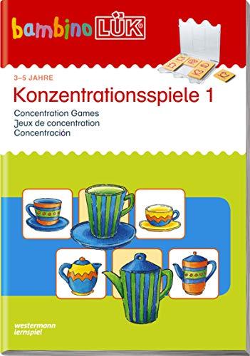 bambinoLÜK-Übungshefte / Kindergarten: bambinoLÜK: Konzentrationsspiele 1: 3 - 5 Jahre (bambinoLÜK-System, Band 105) -