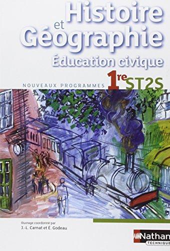 Histoire-Gographie - Education civique - 1re ST2S