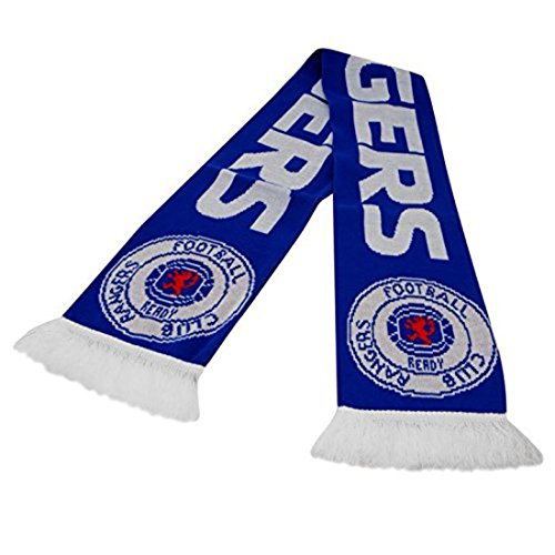 Rangers Football Club Echarpe Bleu - Rangers