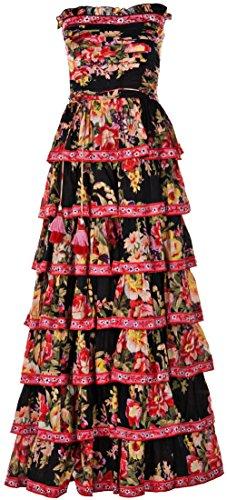 """Las Noches Ibiza Kleid """"Ginger"""" Schwarz   - Noche De Kleider"""