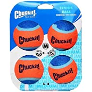 Chuckit Tennis Ball Pack of 4