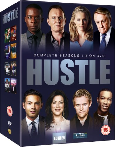 Hustle - Complete BBC Series 1-8 [DVD] [2012] [STANDARD EDITION] [Import anglais]