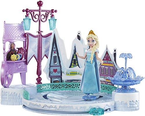 Mattel Disney Princess DFR88 - Minipuppen und Zubehör - Die Eiskönigin Eislaufspaß mit Elsa (Gesamt Omega 3)