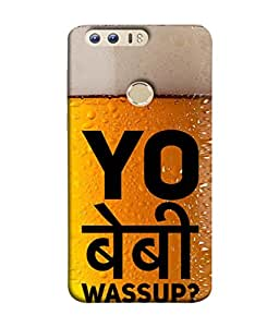Fuson Designer Back Case Cover for Huawei Honor 8 (Boy College Young Youth Enjoy Life Girls)
