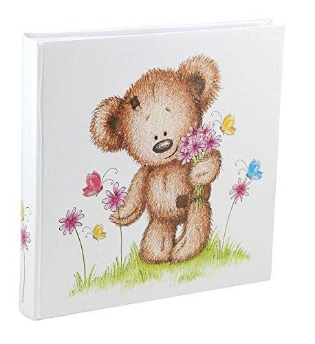 Ideal Cat & Bears Fotoalbum 30x30 cm 100 Weiße Seiten Baby Kinder Foto Album Fotobuch: Farbe: Schmetterling - Digitale Baby-foto-album