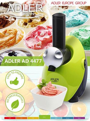Adler Sorbet Maker Grün/Mehrfarbig, Einheitsgröße