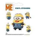 Stickers Minion Dave et ses Amis Moi Moche et Mechant
