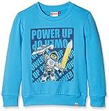 Lego Wear Jungen Sweatshirt Lego Boy Nexo Knights Sebastian 102-Sweatshirt, Blau (Blue 538), 128