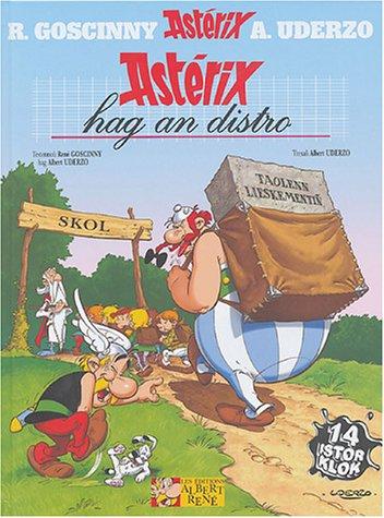 Astérix hag an distro : Edition en breton