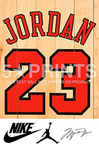 Michael Jordan NBA Chicago Bulls Signed PP Poster Photo 12x8