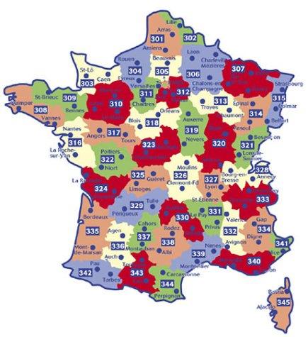 Carte routière : Meurthe-et-Moselle - Meuse - Moselle, N° 11307 par Cartes LOCAL Michelin