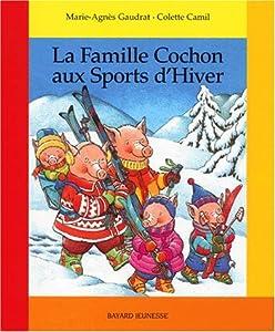 """Afficher """"La famille Cochon aux sports d'hiver"""""""