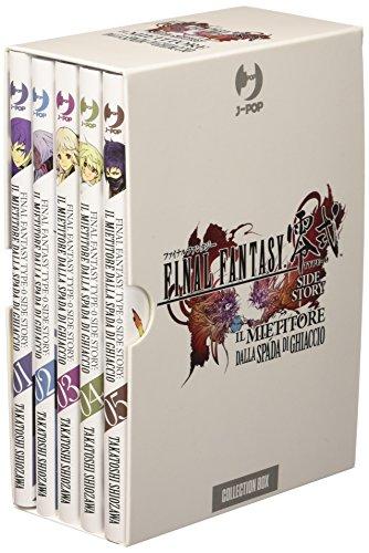 Final Fantasy Gaiden Type-0. Il mietitore dalla spada di ghiaccio vol 1-5