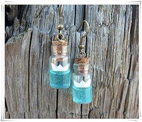 Ocean earrings, Beach earrings, Resin jewelry, Ocean jewelry, Nautical jewelry, Sea earrings, Stylish earrings