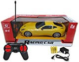 #10: Happy GiftMart HQ 1:24 Remote Control Cars With Rechargeable Batteries and Adapter (Yellow)