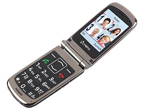 Image of OLYMPIA Modell Style Plus Komfort-Mobiltelefon mit Großtasten und Farb-LC-Display schwarz