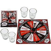 Juego de beber Spinning Shot–Party Night, con 4vasos, 15,5x 15,5cm