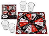 Juego de beber Spinning Shot – Party Night, con 4 vasos, 15,5 x...