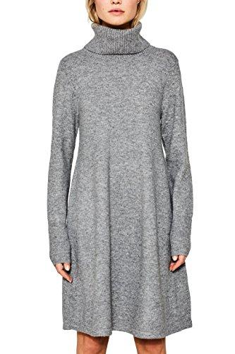ESPRIT Damen Kleid 107EE1E020 Grau (Grey 5 034), Large