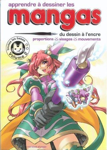 Apprendre  dessiner les mangas - Volume 2 de Hayashi. Hikaru (2010) Reli