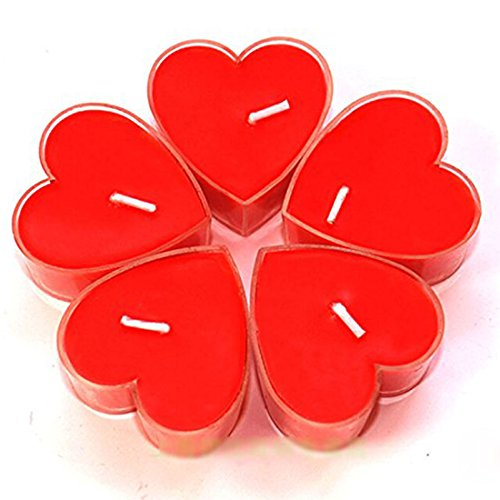Ancdream Paquete de 18 Velas con Aroma - Corazón