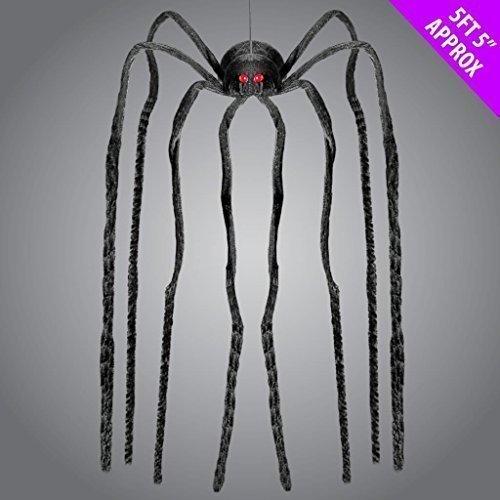 Largo Con Patas Araña TERROR 165cm Decoración Halloween Colgante Room Creador ambiente