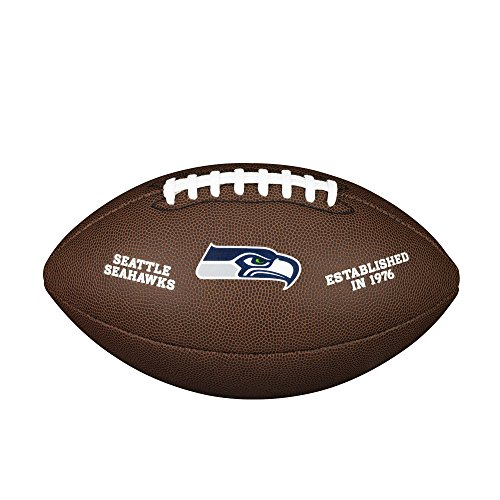 Wilson Unisex-Adult NFL LICENSED BALL SE American Football, BROWN, Uni