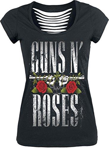 Guns N' Roses Big Guns Camiseta Mujer Negro M