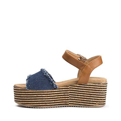 Ideal Shoes ,  Sandali donna Marine