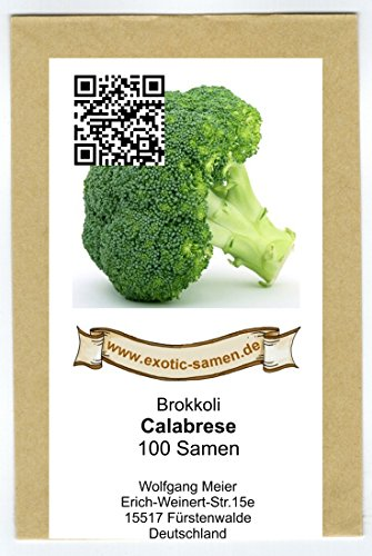 Brokkoli - Calabreser - 100 Samen