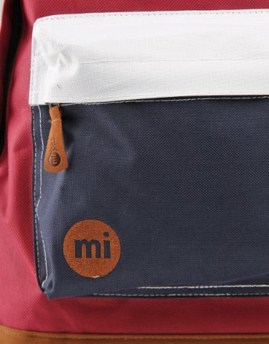 Mi-Pac Zaini Casual  0 Burgundy/White/Navy