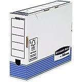 Bankers Box 0026401 Scatola Archivio A4 System, Dorso 80 mm, FSC, Confezione da 10 Pezzi