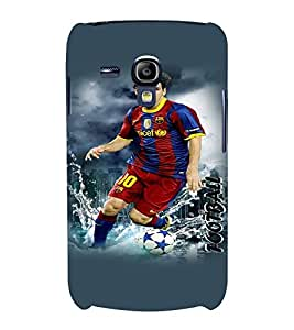 PrintVisa Sports Football 3D Hard Polycarbonate Designer Back Case Cover for Samsung Galaxy S3 Mini