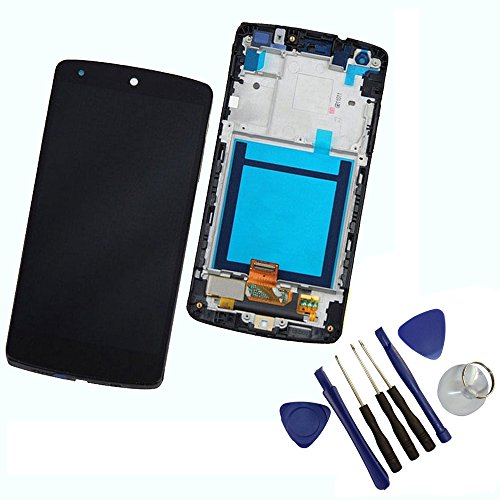 black-lcd-display-touch-glass-screen-digitizer-with-frame-assembly-replacement-for-lg-google-nexus-5