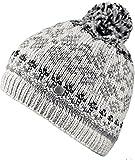 Bogner FIRE + Ice Damen Bommel-Mütze Molly, Gr. L, Farbe Hellgrau-grau