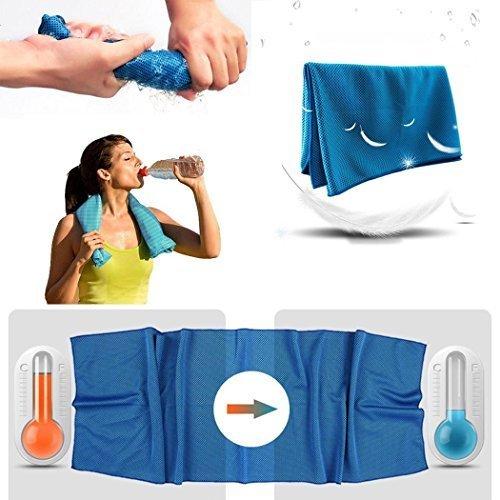 BestYT Sofortige Kühlung Pets Gym Baby absorbieren Schweiß Dry und Handtuch Handtuch Sport Trocknen Fall (Fieldcrest Luxus-bad)