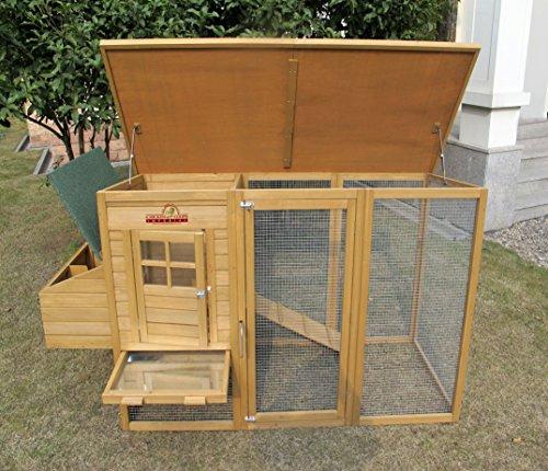 Chicken Coops Imperial - Hühnerstall Wentworth - für bis zu 4 Hühner - innovative Verriegelung -
