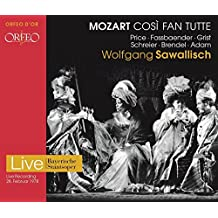 Mozart: Cosi Fan Tutte [Margarite Price; Brigitte Fassbaender; Wolfgang Brendel; Peter Schreier] [Orfeo D'Or: C918182I]