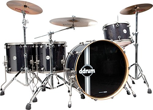 ddrum-reflex-bombardier-shell-black-sparkle-pack-of-5