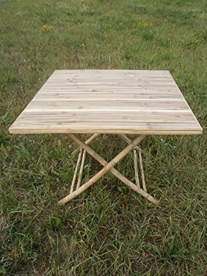 Gartentisch,Bambustisch,Klapptisch,Holztisch