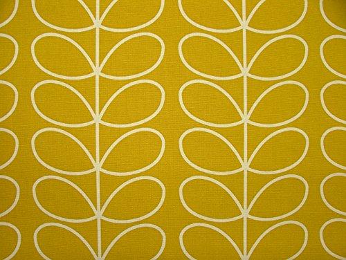 Orla Kiely Vorhang-Stoff,Meterware, mit linearem Blumen-Design