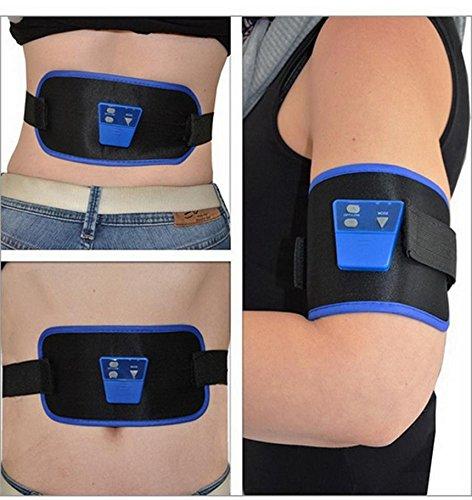 Sécurisez Muscle Vending Suède ABGYMNIC AB Gymnic Body Massager électronique Bras Jambe taille abdominale Massage perdre du poids Exercice Toning Ceinture Slim Fit