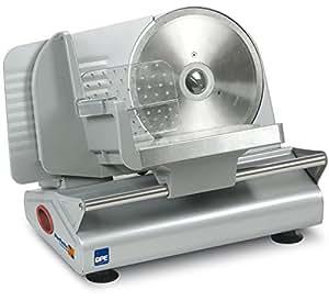 DPE Perfetta 190 Electric 150W Metal,Stainless steel Silver slicer - Slicers (Metal, Stainless steel, Silver, 4.4 kg, 240 x 340 x 290 mm, 280 x 405 x 305 mm)