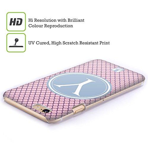 Head Case Designs Lettera R Lettere Cover Retro Rigida per Apple iPhone 7 / 8 Lettera Y